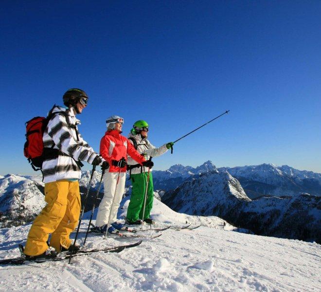 Gruppenskilauf-Nassfeld-Hermagor